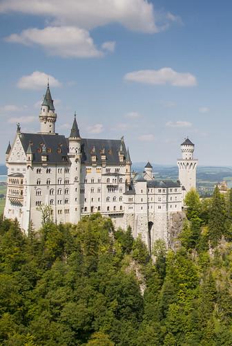 das magische Neuschwanstein Schloss