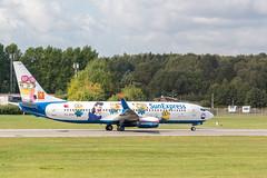 TC-SOH, Sunexpress (wegistdasziel) Tags: tcsoh fluggesellschaft deutschland boeing7378hc flugzeuge sunexpress kennungen hamburg orte