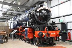 "600 ""Gordon"" (1943) (Roger Wasley) Tags: 600 gordon svr steam locomotive severnvalleyrailway heritage trains railways theenginehouse museum highley longmoormilitaryrailway thewizardexpress"