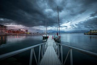 Harstad, Norway Harbour