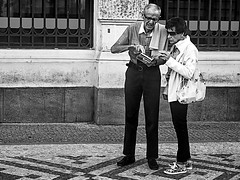 Photo (BadSoull) Tags: photo europe nikon trip streetphoto black white bnw people street