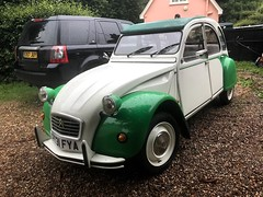 2CV6 looking prior to purchase (Live to Drive2) Tags: live drive citroen 2cv 2cv6 special dolly 1986