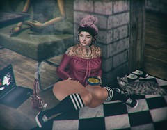 Caturday ♥ Meow (Piper Patrucci / JACKALOPE) Tags: mesh secondlife randommatter tetra reign lamb jian nexor girlthursday nikotin lelutka maitreya macncheesemacncheese