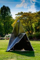 Imploded Pyramid 2002 (hermelin52) Tags: deutschland germany nrw essen stadtessen gruga grugpark statue skulptur ewerdthilgemann implodedpyramid kunstimöffentlichenraum puplicart öffentlichekunst