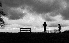 kindred spirit photographers (WorcesterBarry) Tags: blackwhite bnw blackandwhite street streetphotography streetphoto shadows silhouette night england places people photographers portrait sky streetartist bench sunset broadwaytower monochrome ~monochrome~ ~stance age weather clouds