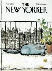 Ronald Searle from The Big New Yorker Book of Cats (hbreut@ymail.com) Tags: cat newyorker