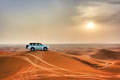 Outstanding desert sunset 🐫 (axella_paris) Tags: safaridésert sable désert dubaï sand desert sunset