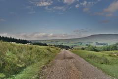 Country Path (Bri_J) Tags: yorkshirethreepeaks walk yorkshiredales nationalpark northyorkshire uk yorkshire threepeaks countryside nikon d7200 path hdr landscape sky clouds