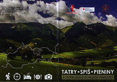 Tatry Spis Pieniny - Turistakalauz a régión keresztül; 2016_1, Presovsky Kraj, Tatry, Slovakia  (hungarian language) (World Travel Library - collectorism) Tags: tatry spis pieniny 2017 guide nature green clouds mountains tatra nice travelbrochurefrontcover frontcover presovskykraj slovakia slovenska brochure world travel library collection holidays tourism touristik touristische trip vacation papers prospekt catalogue katalog photos photo photography picture image collectible collectors sammlung recueil collezione assortimento colección ads gallery galeria documents dokument broschyr esite catálogo folheto folleto брошюра broşür