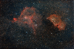 IC1805, IC1848 (abonis) Tags: canon 600d astrophotography stars night sky astrometrydotnet:id=nova2754407 astrometrydotnet:status=solved