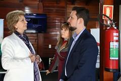 28/08/18 - Visita a 41ª Expointer em Esteio. Com o prefeito de Esteio, Leonardo Pascoal.