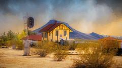 Station Depot (emiliopasqualephotography) Tags: railroadstation depot museum goffsca california desert route66
