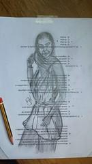 Un dedo y un trocito de mina... Después un poco de  lápiz y sale Montse con el pelo al aire... Bocetos en papeles usados... . .  #draw  #artlovers #artdaily #artist  #artoftheday #artofinstagram #drawing #woman #painting  #crayon #artwork  #instaart  #fot (egc2607) Tags: sketch femme artwork art color tattoo fitnessgirl artdaily artphoto artlovers artoftheday photography pencildrawing artist painter painting sensualidad instaart drawing zaragoza фотография fotografia beautifulgirl woman sensuality crayon artofinstagram draw