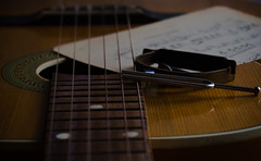 Guitar (Adam Błaż) Tags: guitar product stilllife music acoustic string
