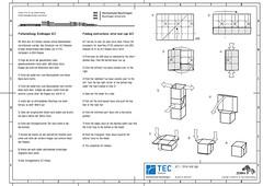 ZEBRA - Folding instructions for strut end cap AC1 (ISO_rigami) Tags: modular origami 3d a4 zebra diagram instructions paper construction eckhardhennig 7osme