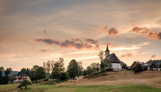 Schwarzenberg sunset