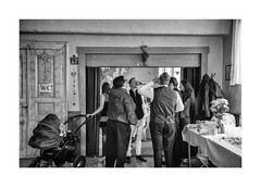 Cheers (Paphylo) Tags: caravan people wedding evening dinner indoor countryside carnies monochrome přelouč blackandwhite nikond810 carny village countrylife document reallife