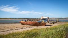 The SS Boop, Instow beach (Aliy) Tags: boop ssboop instow beach coast devon northdevon wreck wreckedboat shipwreck rusty hulk rusting jetty oldboat oldjetty oldpier abandoned
