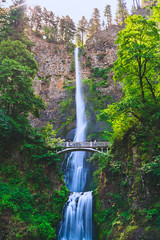 "Multnomah Falls, Backlit (Jeremy Thomas Photography) Tags: multnomahfallsbacklit multnomahfalls backlit portland oregon portlandoregon columbiarivergorge nature outdoor outdoors outside beautiful pretty gorgeous stunning amazing whoa wow cool beauty light lights lighting color colors colorful waterfall bridge natural sony alpha mirrorless ""a7r mark iii"" ""sony a7r hd high def definition raw lightroom 3 full frame digital exposure prime fixed ef 35mm 35 l f14 usm lens wide angle bokeh dof quality fijizzle sharp portrait fov"