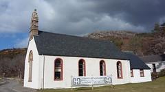 Gairloch Parish Church, Gairloch, Wester Ross, Mar 2018 (allanmaciver) Tags: gairloch parish church corner wester ross west coast parsh local windows smart appearance clouds weather allanmaciver