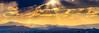 Godbeams and Buttes (William Horton Photography) Tags: cainevilleroad capitolreefnationalpark utah aerialperspective crepuscularrays godbeam nationalpark panorama redrocks sunburst sunset