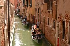 Gondole e gondolieri (Angelo Nori) Tags: venezia gondola gondoliere mare laguna angelonori landscape paesaggi venice