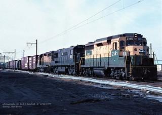 CR 2185-6514-3642 BP-6, Kearny, NJ. 2-12-1977