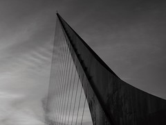 detail of a rotating footbridge (rocami19) Tags: leica dlux 5