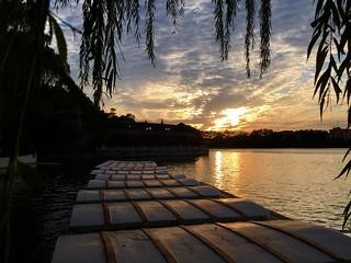 Bei Hai Sunset - Beijing -Explore