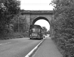 RE under the arch (DH73.) Tags: britol re northamptonshire blisworth ecw united counties ucoc 311 nbd311f 6x7 rangefinder camera 100mm mamiya press lens ilford delta 40 id11 11