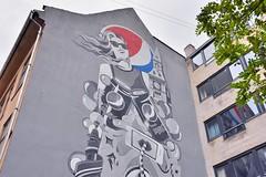 Pepsi Mural (jpellgen (@1179_jp)) Tags: denmark danish dane europe european sigma 1770mm d7200 nikon summer august travel 2018 copenhagen kobenhavn scandinavia scandinavian zealand pepsi mural streetart publicart graffiti gothersgade