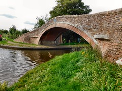 Bridge at the Great Haywoord Junction [in explore] (John McLinden) Tags: staffordshire canal canals bridge water trentmerseycanal staffordshireworcestershirecanal