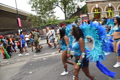DSC_8163 (photographer695) Tags: notting hill caribbean carnival london exotic colourful costume girls dancing showgirl performers aug 27 2018 stunning ladies