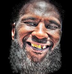 Whatever Kevin Wants ... (daystar297) Tags: streetportrait portrait black africanamerican beard smile nikon nikond90