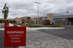 Humberside - Hull East & NHS Integrated Care Centre (matthewleggott) Tags: humberside fire rescue service station hull east yorkshire chcp nhs partnership joint working jean bishop bee lady icc integrated care centre david list school former june 2018