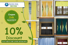 Save 10% flat (pacificstarproducts) Tags: save discount offer sale flat grab shop online now duvetcoversets french door curtains bedskirts
