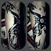 Naga lengan (Ozzy Borneo) Tags: ozzy borneo tattoo iban dayak pantang kelingai black tribal carpe diem yogyakarta jogja sarawak kalimantan