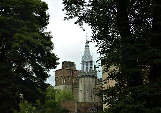 A Glimpse of Cardiff Castle!