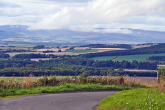 The Carrot Hill Road (eric robb niven) Tags: ericrobbniven scotland carrot hills dundee landscape roads cycling