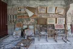 Information overloaded (picturenarrative) Tags: chernobyl soviet ukraine coldwar ecology military nuclear ruins