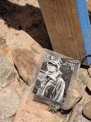 Jack O'Neil's grave in cemetery of San Jose de la Gracia in Trampas, NM (Riverwest) Tags: highroad taos santafe newmexico