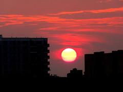 New York Sunset (dimaruss34) Tags: newyork brooklyn dmitriyfomenko image sky clouds sun sunset