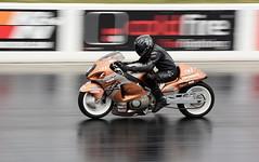 Busa_2527 (Fast an' Bulbous) Tags: dragbike racebike drag race track strip moto motorcycle fast speed power acceleration santa pod nikon outdoor motorsport biker
