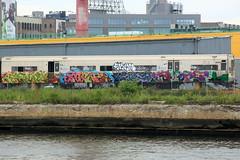 egore mone xsoup (Luna Park) Tags: ny nyc newyork queens lic graffiti lirr scrap train wholetrain newtown creek lunapark egore egor imok xsoup mone tfp