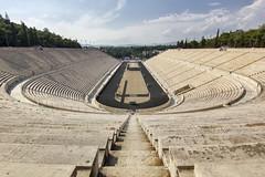 Estadio Panathinaikos (Atenas) (U2iano) Tags: panathinaikos panathinaikó estadio stadium kallimármaro olimpico maraton marathon grecia greek greece atenas athens athins