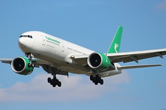 EZ-A778 Boeing 777-22KLR Turkmenistan Airlines (R.K.C. Photography) Tags: eza778 boeing 77722klr b777 turkmenistanairlines aircraft airliner aviation london heathrow myrtleavenue england unitedkingdom uk londonheathrowairport lhr egll canoneos100d