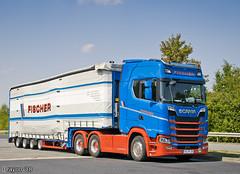 Fischer Spedition (D) (Brayoo) Tags: scania nextgen transport truck v8 trans trucks tir lkw lorry