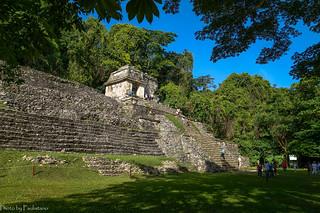 In ancient Palenque / В древнем Паленке