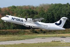 OH-ATJ ATR-72 NORDIC REGIONAL AIRLINES (QFA744) Tags: ohatj atr72 nordic regional airlines
