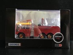 Oxford - Oxford Fire -  Thornycroft Nubian Major - ARFF - Bristol Airport Fire Service - Miniature Diecast Metal Scale Model Emergency Services Vehicle (firehouse.ie) Tags: engine truck tender apparatus appliance arff fire thornycroftnubianmajor nubian thornycroft oxford